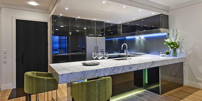شیشه سکوریت آشپزخانه
